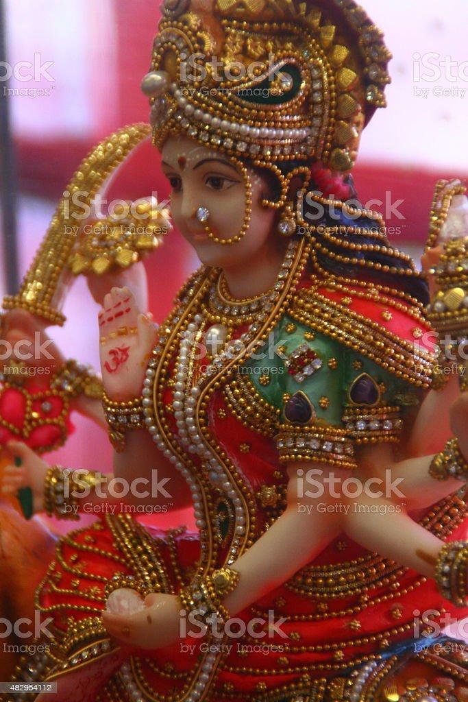 Durga Idol stock photo