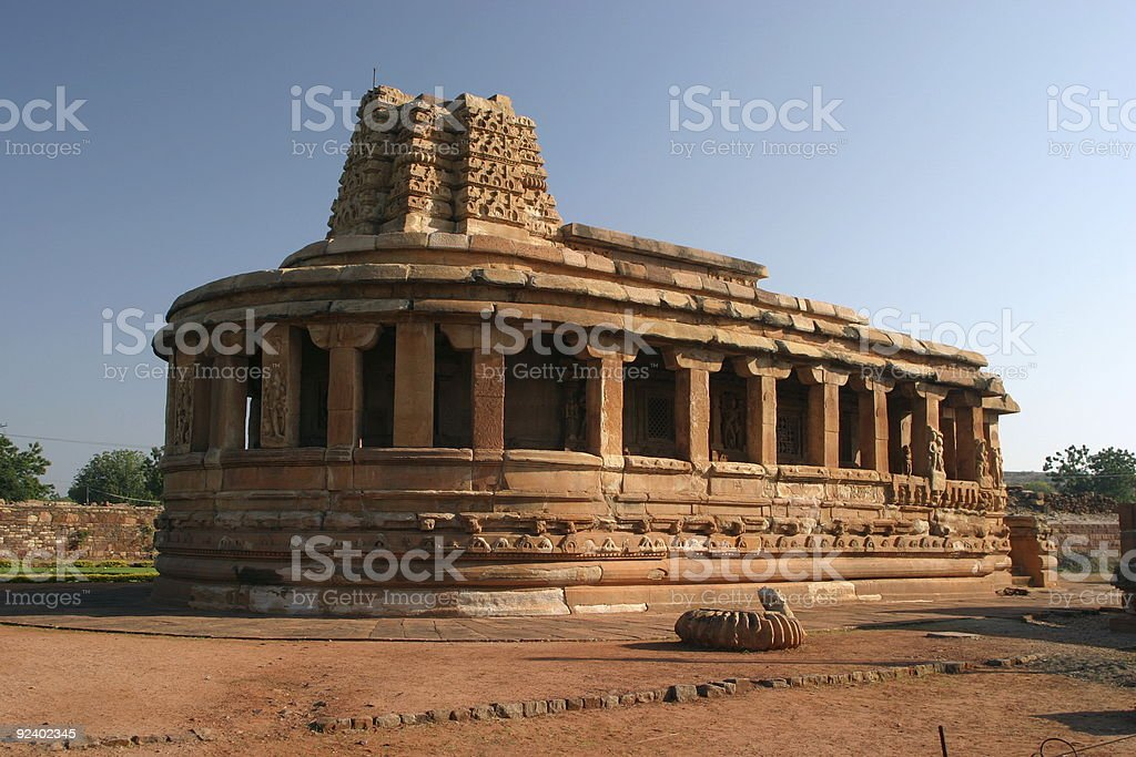 Durga Temple - Aihole, India royalty-free stock photo