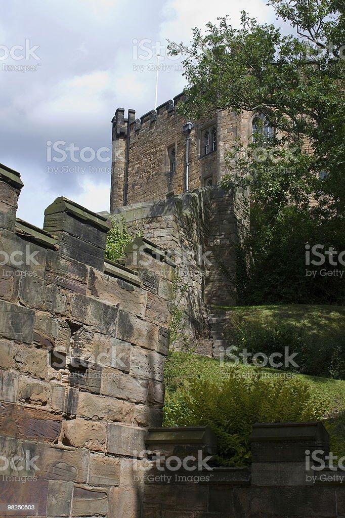Durham Castle Walls royalty-free stock photo