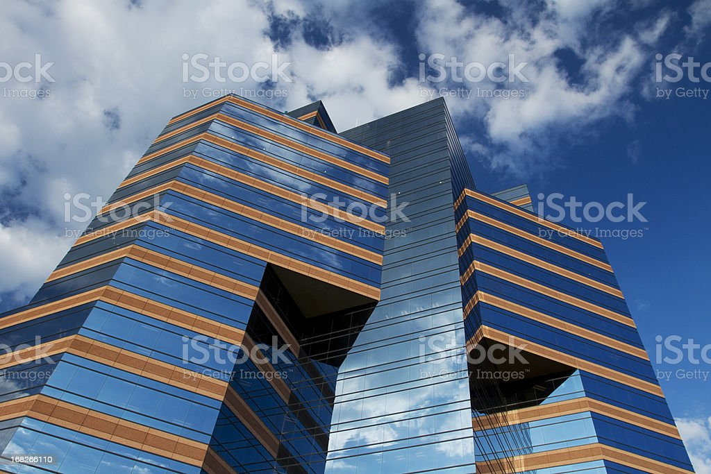 Durham Centre stock photo