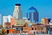 istock Durham, NC skyline 454993717