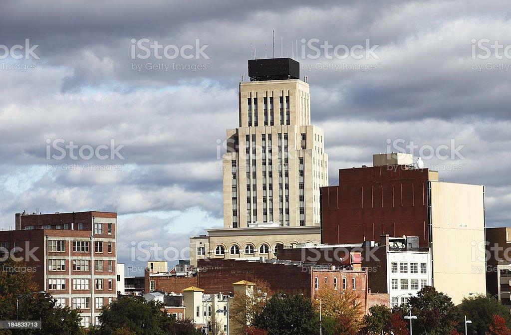 Durham, North Carolina stock photo