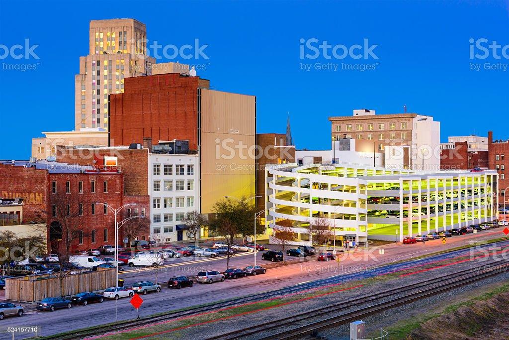 Durham North Carolina stock photo