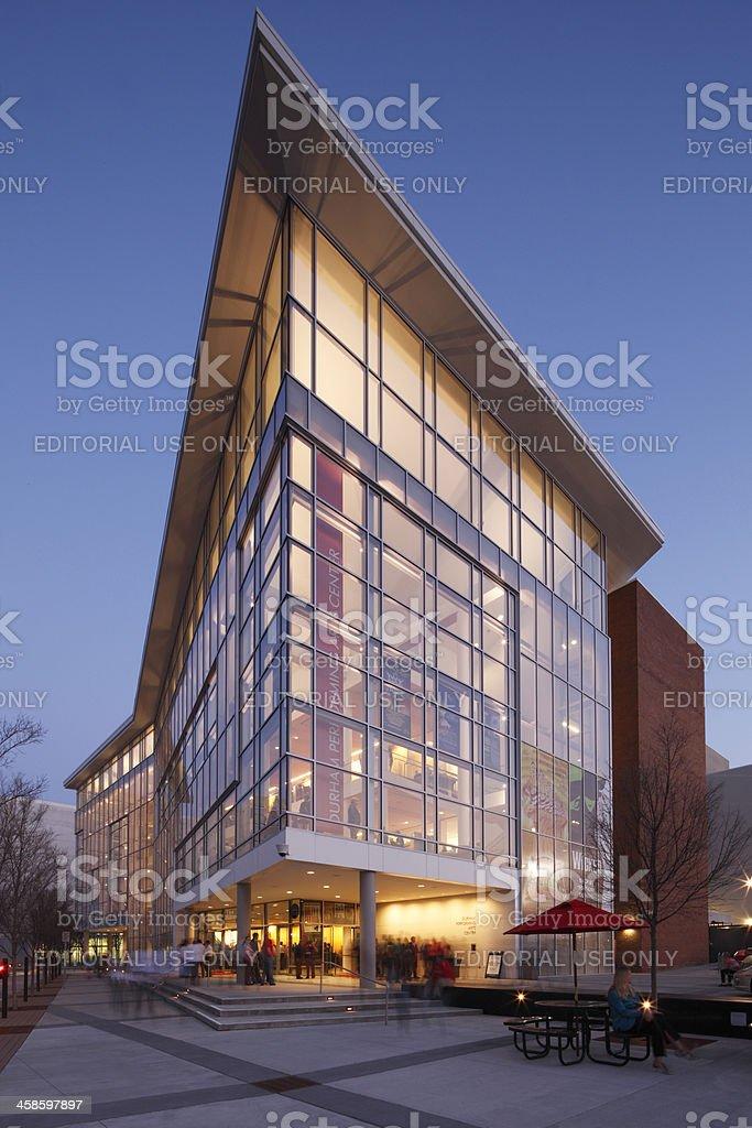 Durham Performing Arts Center stock photo