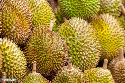 Durian from Davao, Philippines