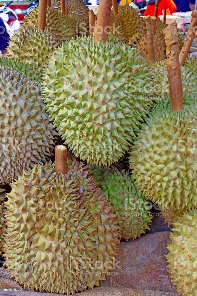 Durian Lizenzfreies stock-foto