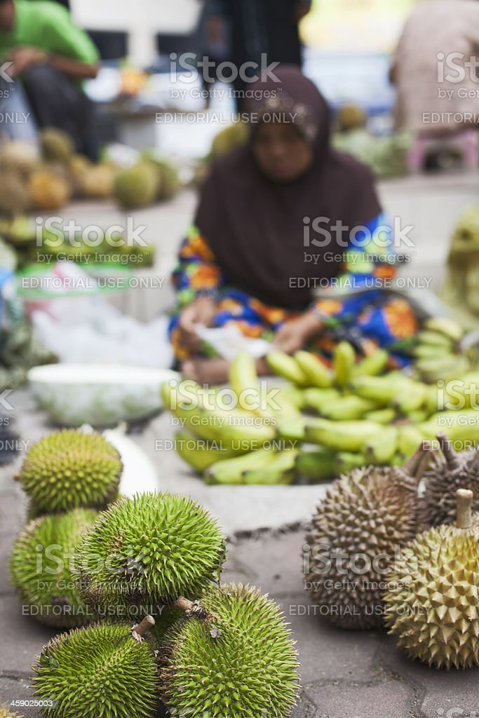 Durian tropical fruit. royalty-free stock photo