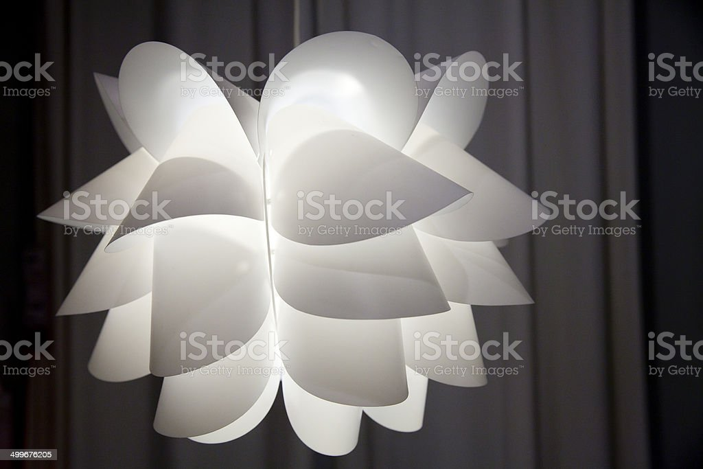 Pendant lamp stock photo
