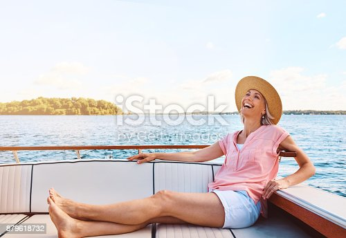879618770 istock photo During retirement, do whatever floats your boat 879618732