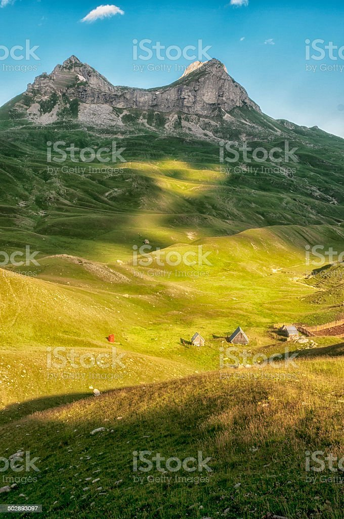Durmitor mountain stock photo