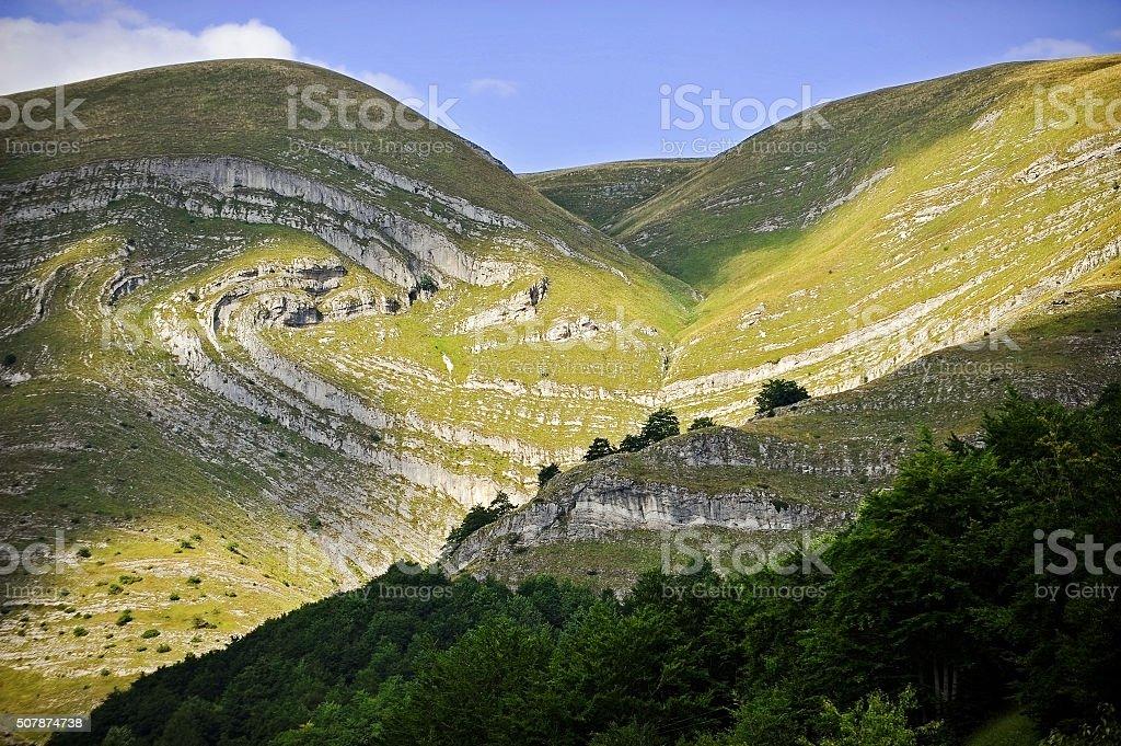 Durmitor National Park in Montenegro stock photo