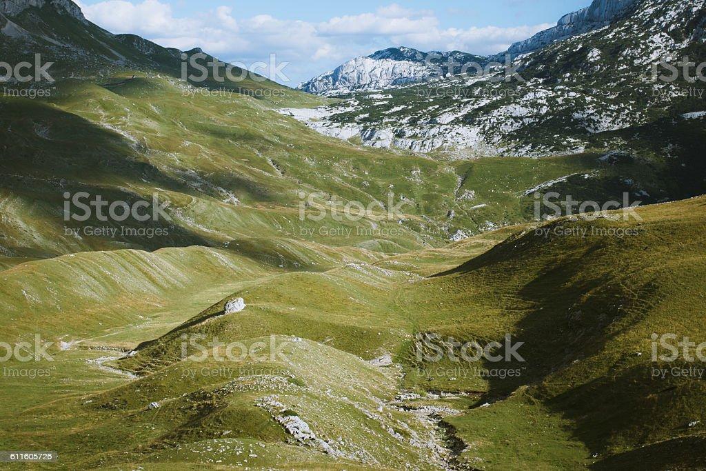 Durmitor Valley stock photo