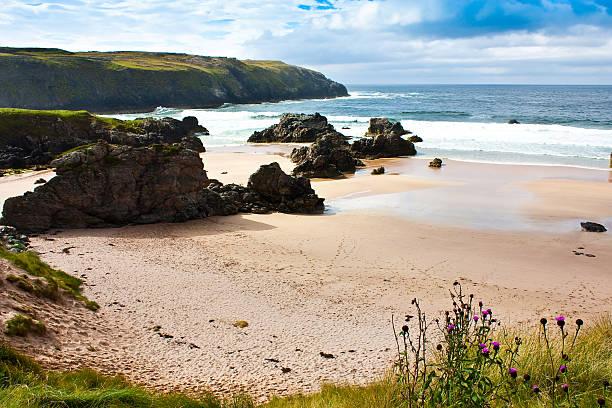 Durness Beach - Scotland stock photo