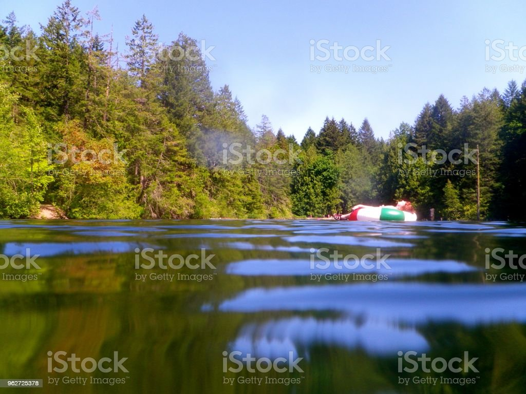 Durrance Lake royalty-free stock photo