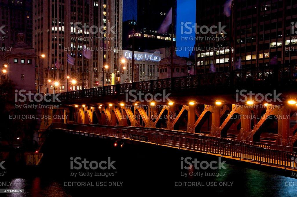 Dusable Bridge stock photo