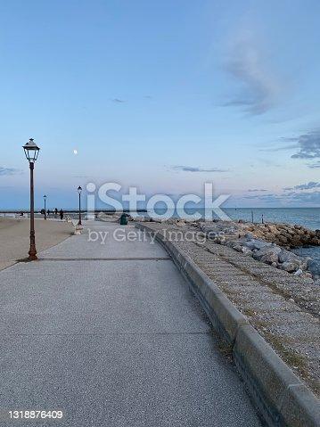 istock Dusk at The Holy Marys of the Sea 1318876409