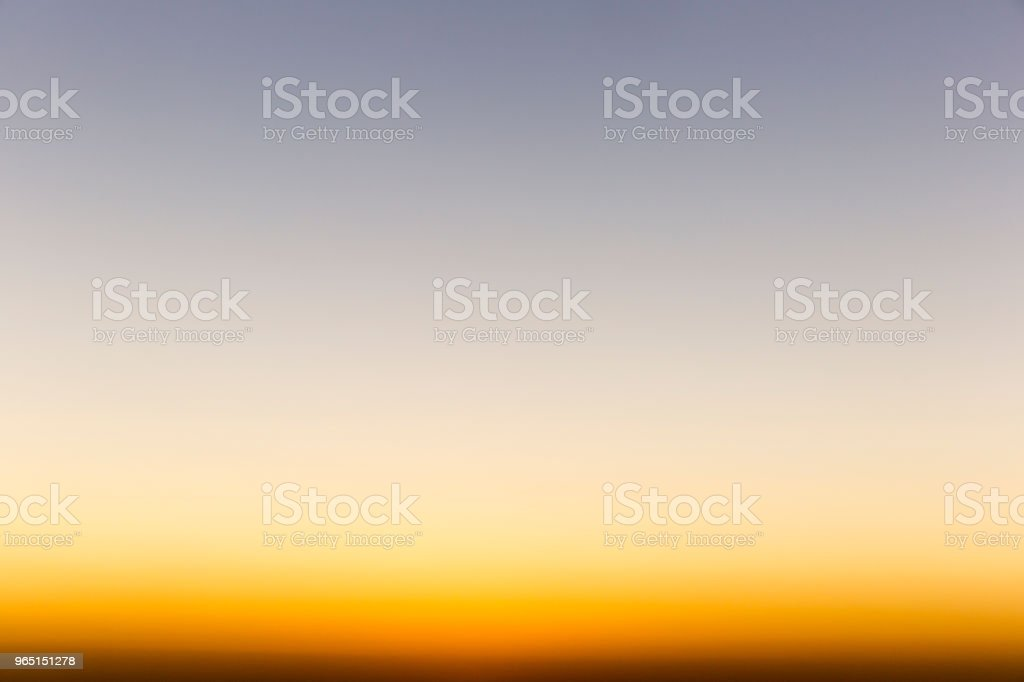 Dusk Gradient Sunset royalty-free stock photo