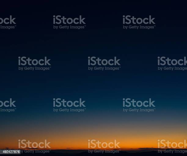 Photo of Dusk horizon sky