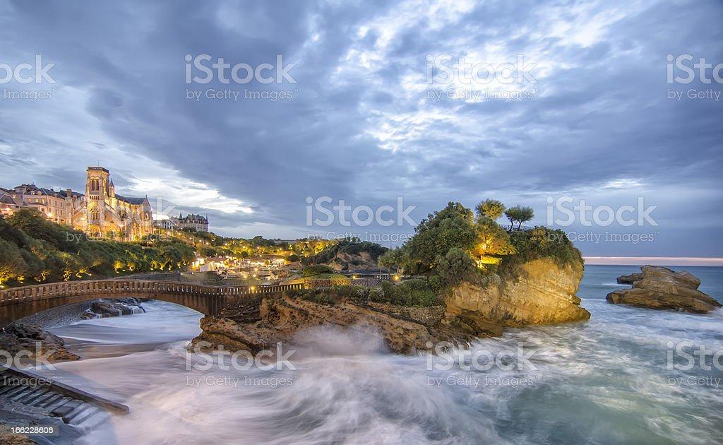 Crépuscule de Biarritz, France - Photo