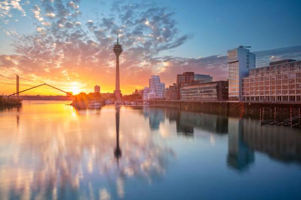 Dusseldorf, Germany. stock photo