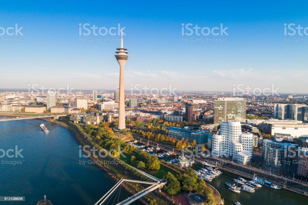 Düsseldorf, Deutschland - Lizenzfrei Architektur Stock-Foto