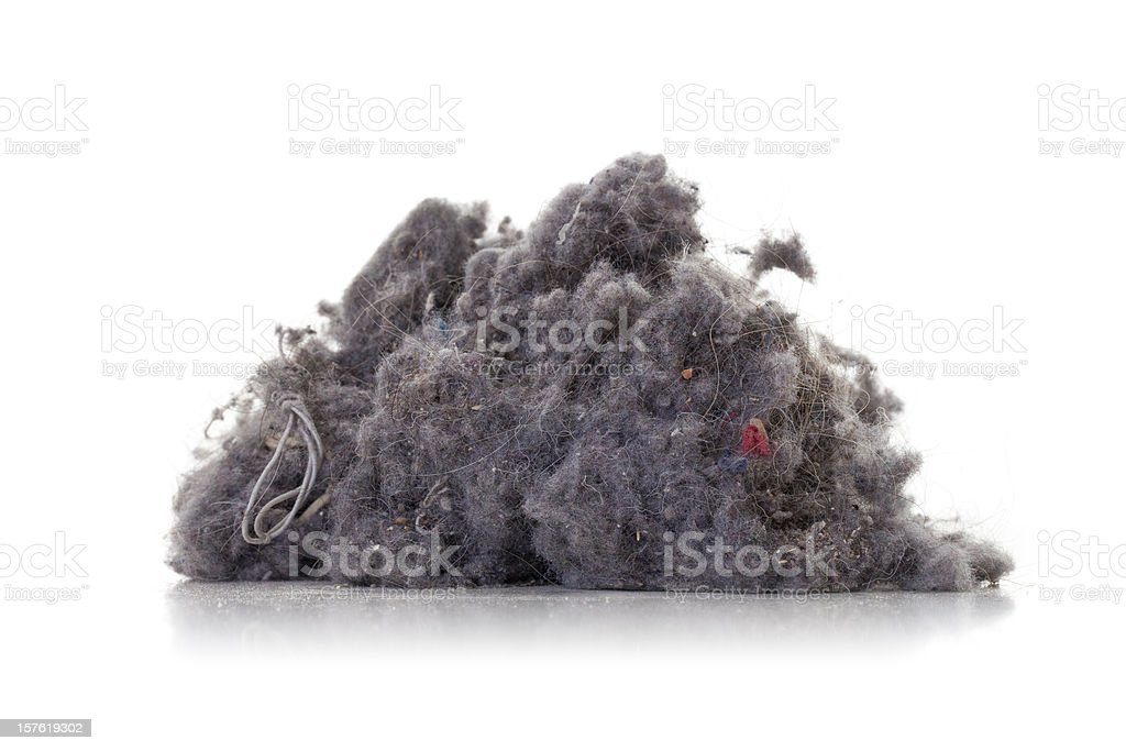 Dust heap stock photo