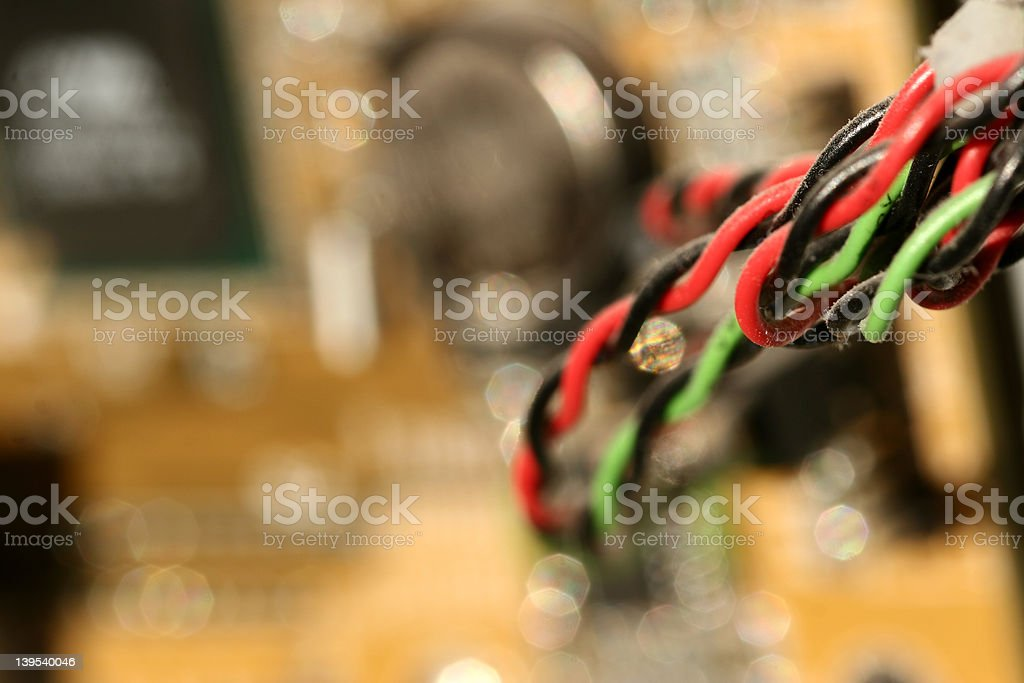 dust on computer 01 royalty-free stock photo