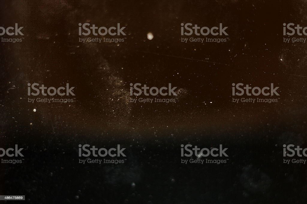 Dust on glass texture stock photo