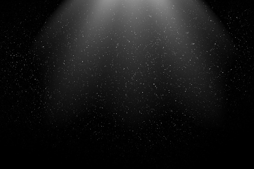Dust Particles Flying in the Air. Can be used as Overlay with a Blending Mode (screen).