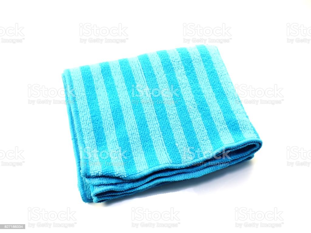 dust remover microfiber fabric stock photo