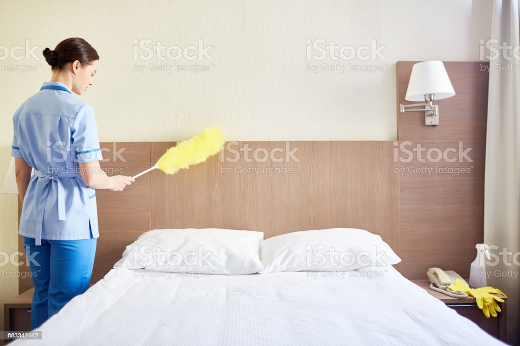 dusting furniture. Dusting Furniture Royalty-free Stock Photo Dusting P