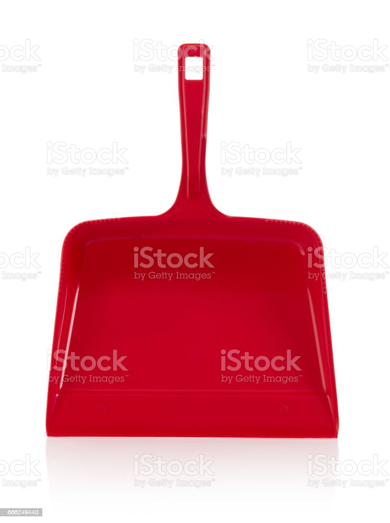 Dustpan stock photo