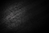 Dusty Abstract Grunge Decorative Dark floor Background. Art Rough Stylized Banner With Space For Text
