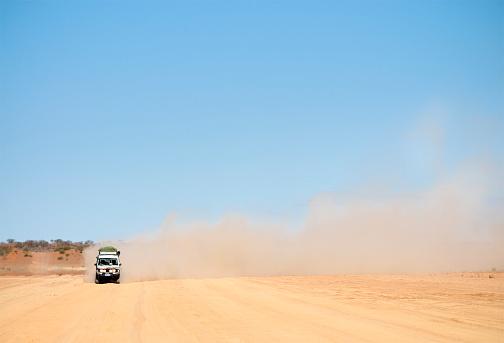Dusty Australian Road Trip