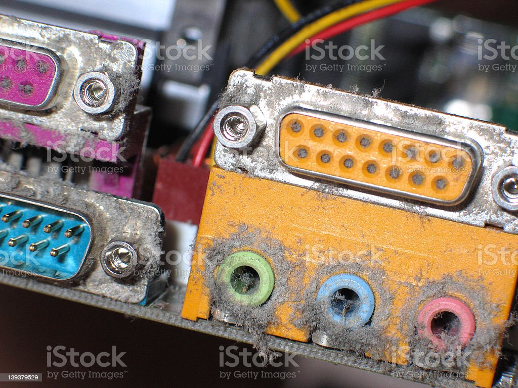 dusty connectors royalty-free stock photo