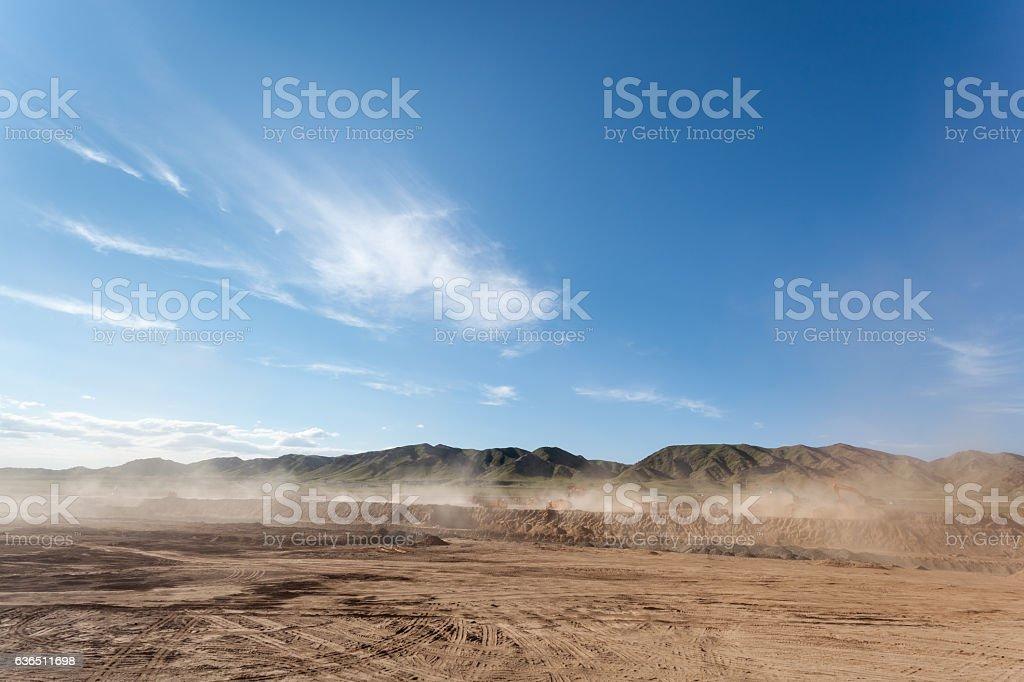 dusty Baustelle – Foto