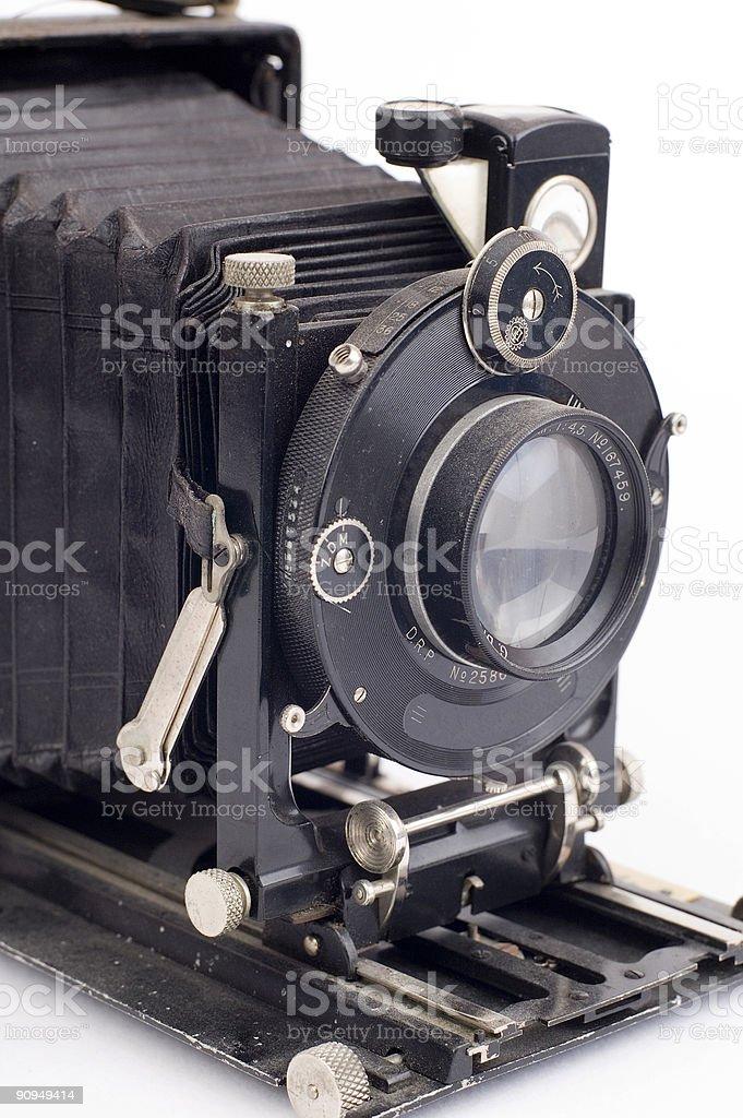dusty folding camera royalty-free stock photo