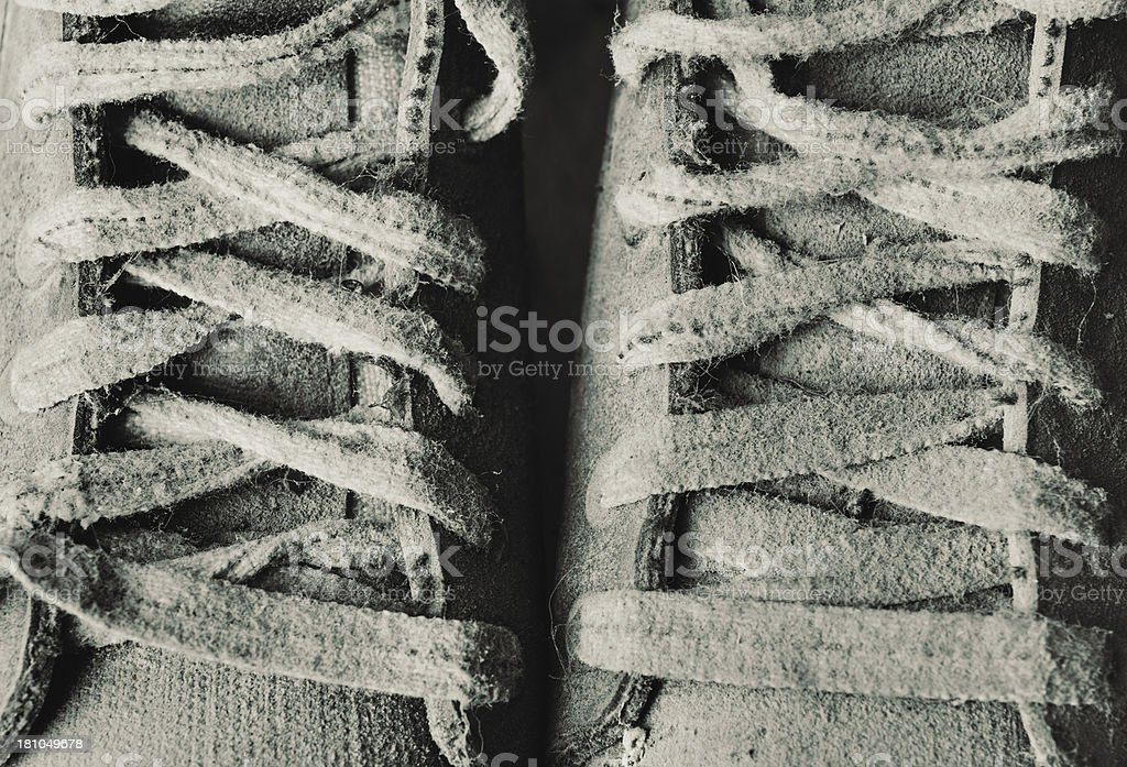 Dusty Skates royalty-free stock photo
