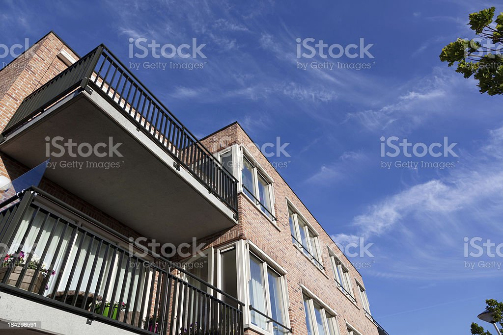 Dutch Appartment royalty-free stock photo