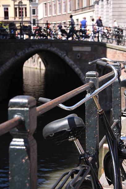 Dutch Fahrrad in Utrecht – Foto