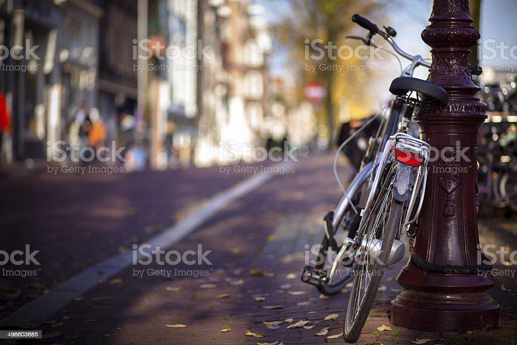 Dutch Bicycle stock photo