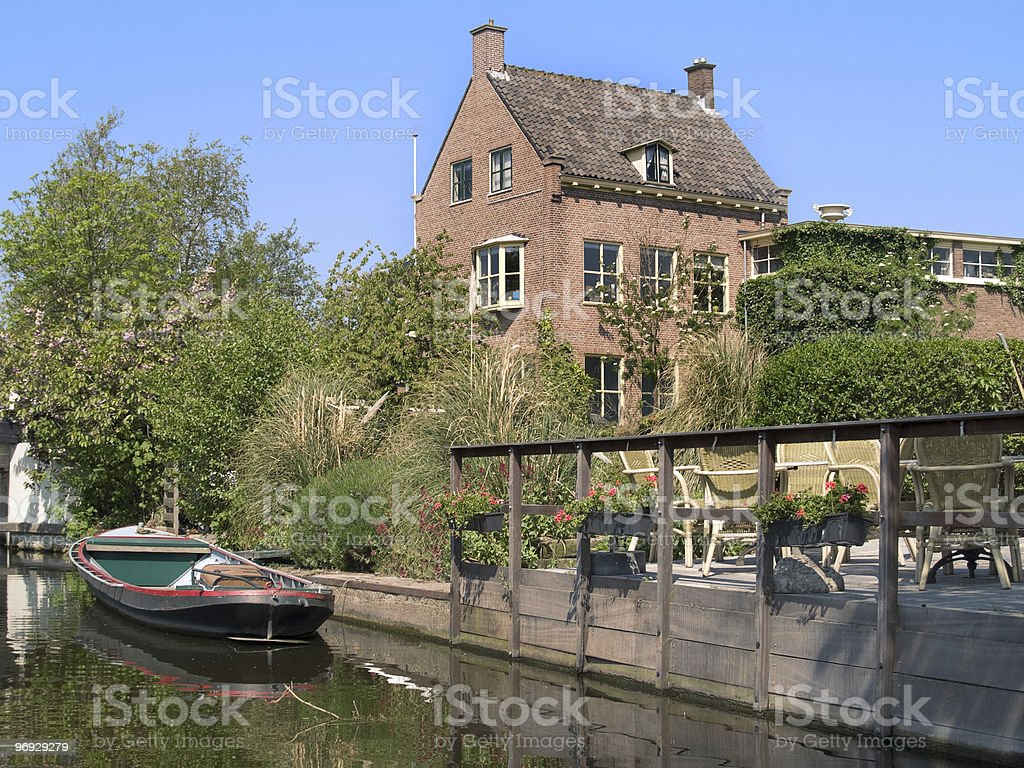 Dutch Canal royalty-free stock photo