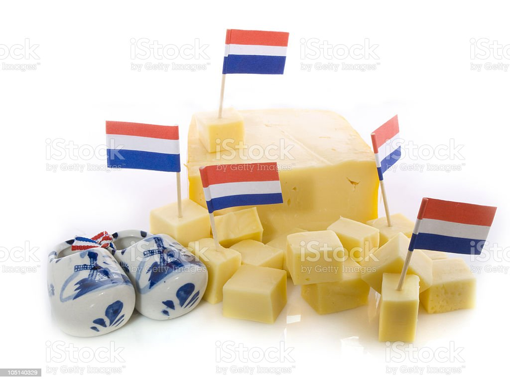Dutch cheese stock photo