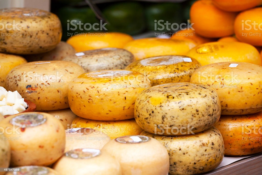 Dutch cheese stock photo