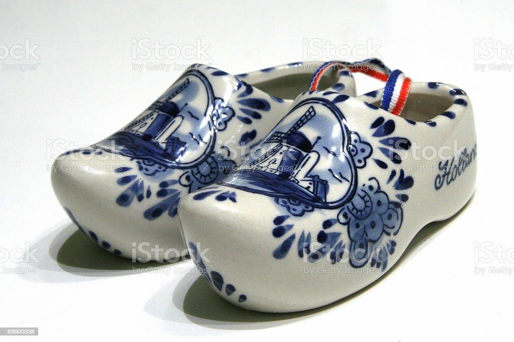 Dutch Clogs stock photo