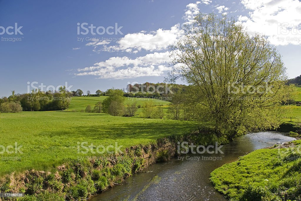 Dutch Countryside stock photo