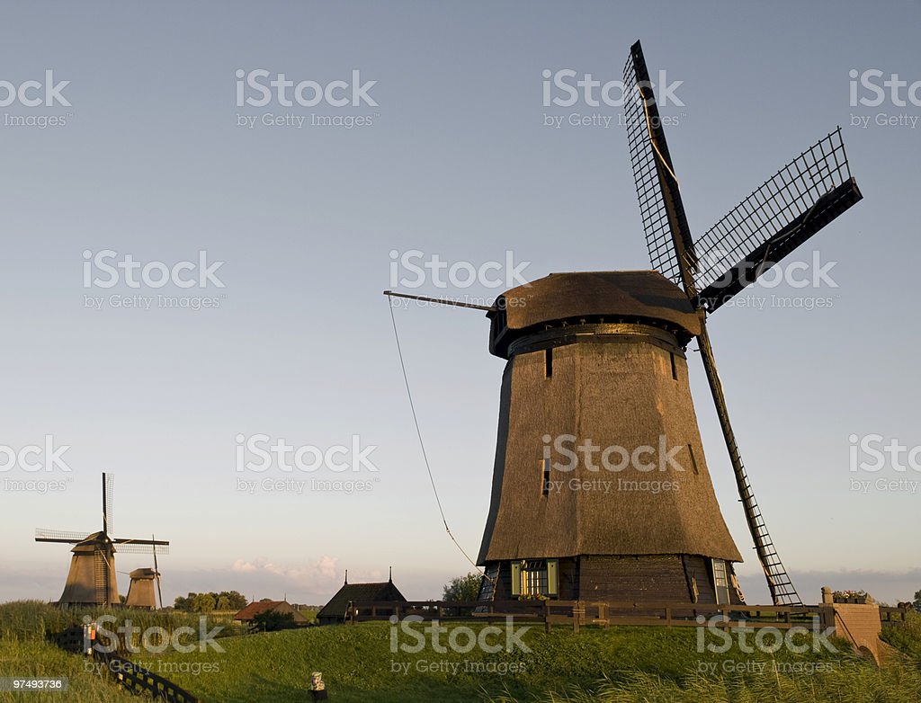Dutch culture royalty-free stock photo