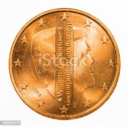 istock Dutch Euro Coin 465504415