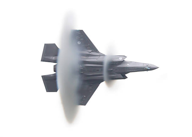 dutch f-35 lightning - sonic boom stock photos and pictures