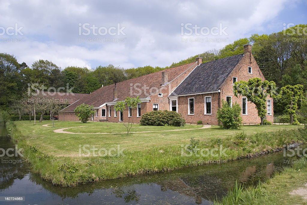 Dutch Farmhouse royalty-free stock photo
